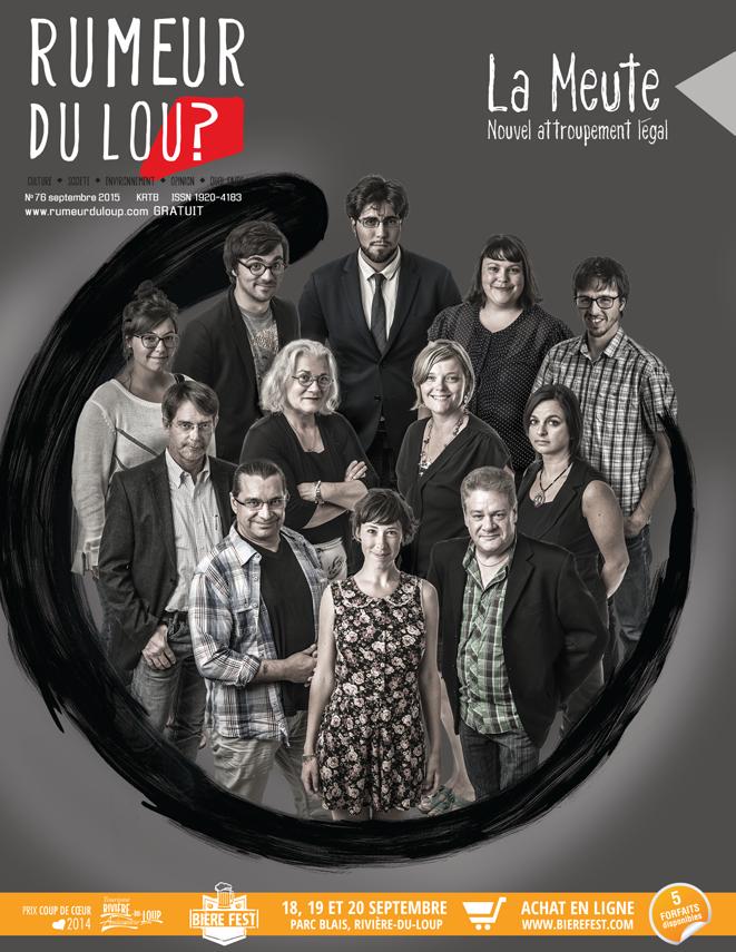 Rumeur du Loup septembre 2015 couverture