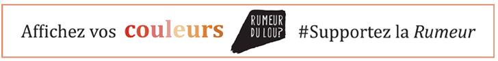 Affichez vos couleurs #Supportez la Rumeur